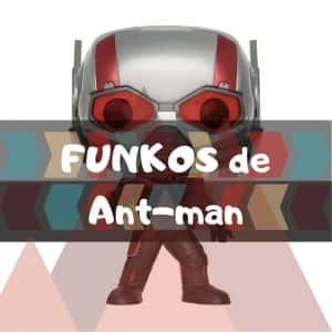 Los mejores FUNKO POP de Marvel Antman
