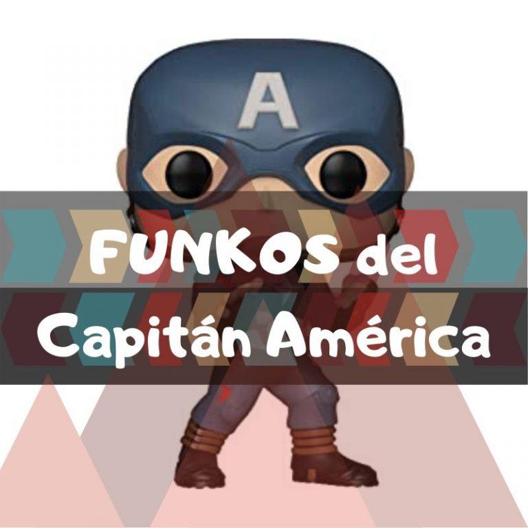 Los mejores funkos POP de Marvel del Capitán América