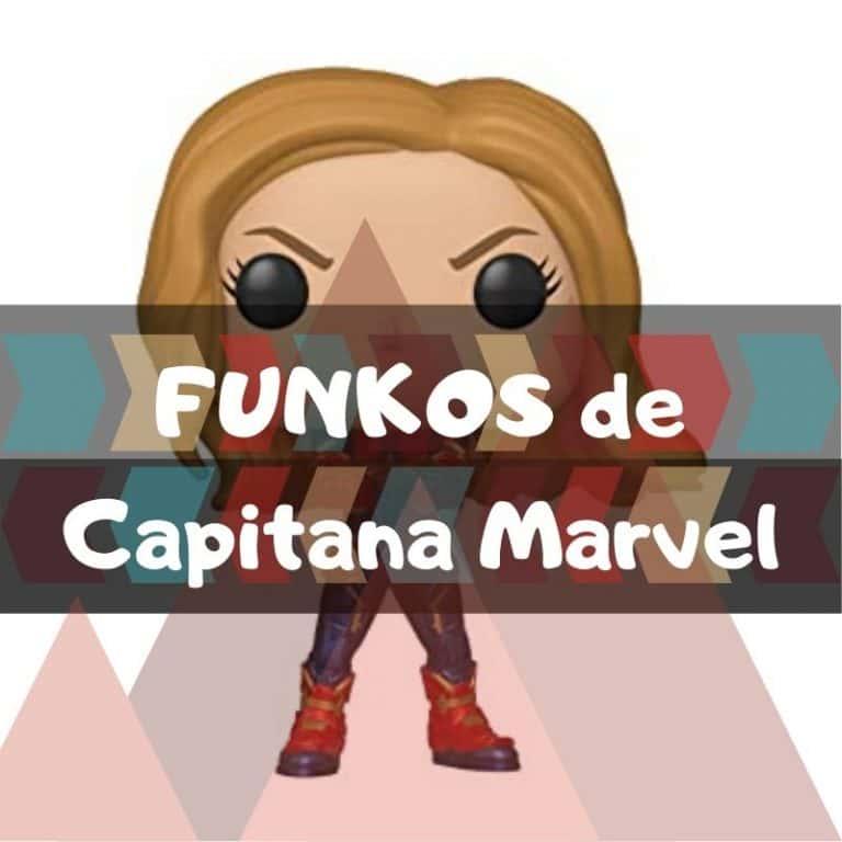 Lee más sobre el artículo Los mejores funkos POP de Marvel de Capitana Marvel