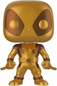 Los mejores FUNKO POP de Marvel Deadpool - Funko de Deadpool dorado de 25 centímetro