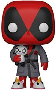 Los mejores FUNKO POP de Marvel Deadpool - Funko de Deadpool en bata