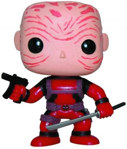 Los mejores FUNKO POP de Marvel Deadpool - Funko de Deadpool sin máscara