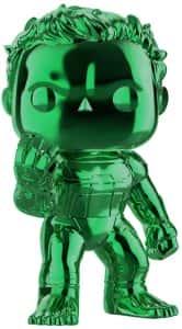 Los mejores FUNKO POP de Marvel - Funko Hulk - Funko de Hulk cromado