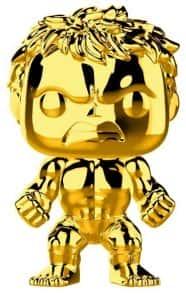 Los mejores FUNKO POP de Marvel - Funko Hulk - Funko de Hulk dorado