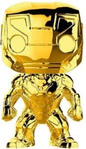 Los mejores FUNKO POP de Marvel - Funko Iron man - Funko de Iron man dorado