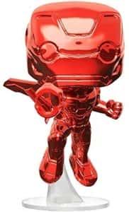 Los mejores FUNKO POP de Marvel - Funko Iron man - Funko de Iron man rojo cromado