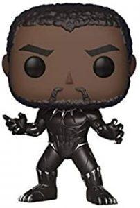Los mejores FUNKO POP de Marvel - Funko de Black Panther - Funko de Black Panther sin máscara
