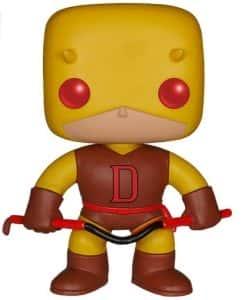 Los mejores FUNKO POP de Marvel - Funko de Daredevil - Funko de Daredevil amarillo