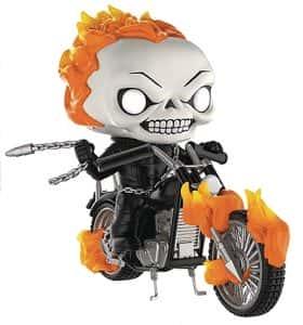 Los mejores FUNKO POP de Marvel - Funko de Ghost Rider - Funko de Ghost Rider con moto