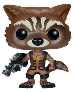 Los mejores FUNKO POP de Marvel - Funko de Guardianes de la Galaxia - Funko de Rocket clásico