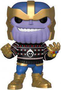 Los mejores FUNKO POP de Marvel - Funko de Thanos - Funko de Thanos con jersey navideñoLos mejores FUNKO POP de Marvel - Funko de Thanos - Funko de Thanos con jersey navideño