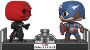 Los mejores FUNKO POP de Marvel - Funko del Capitan America - Funko de Craneo Rojo vs Capitán América