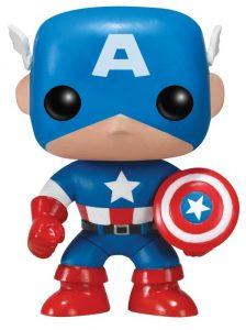 Los mejores FUNKO POP de Marvel - Funko del Capitan America - Funko del Capitan America Clásico