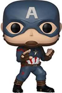 Los mejores FUNKO POP de Marvel - Funko del Capitan America - Funko del Capitan America Vengadores