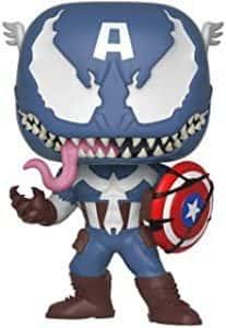Los mejores FUNKO POP de Marvel - Funko del Capitan America - Funko del Capitan America Venom
