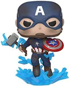 Los mejores FUNKO POP de Marvel - Funko del Capitan America - Funko del Capitan America con martillo de Thor
