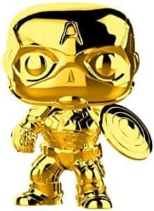 Los mejores FUNKO POP de Marvel - Funko del Capitan America - Funko del Capitan America dorado
