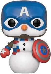Los mejores FUNKO POP de Marvel - Funko del Capitan America - Funko del Capitan America muñeco de nieve