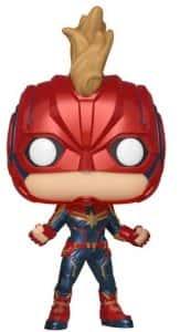 Los mejores FUNKO POP de Marvel - Funko del Capitana Marvel - Funko de Capitana Marvel con casco