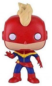 Los mejores FUNKO POP de Marvel - Funko del Capitana Marvel - Funko de Capitana Marvel con casco clásico