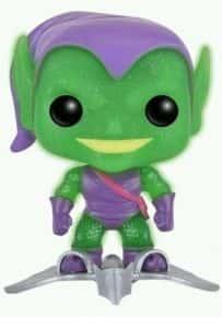 Los mejores FUNKO POP de Marvel - Funkos de villanos de Spiderman - Funko de Duende verde con purpurina
