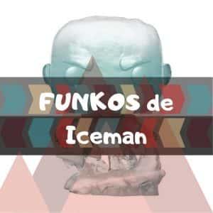 Los mejores FUNKO POP de Marvel X-Men de Iceman