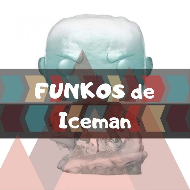 Los mejores funkos POP de Marvel de Iceman