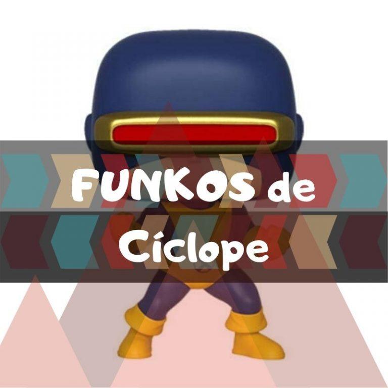 Los mejores funkos POP de Marvel de Cíclope