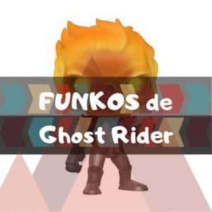 Los mejores FUNKO POP de Marvel de Ghost Rider