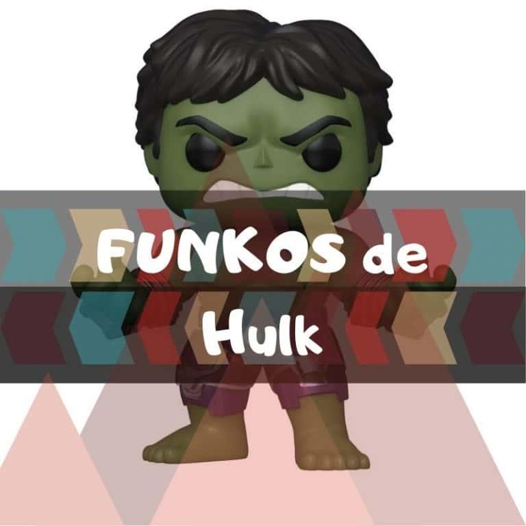 Los mejores funkos POP de Marvel de Hulk