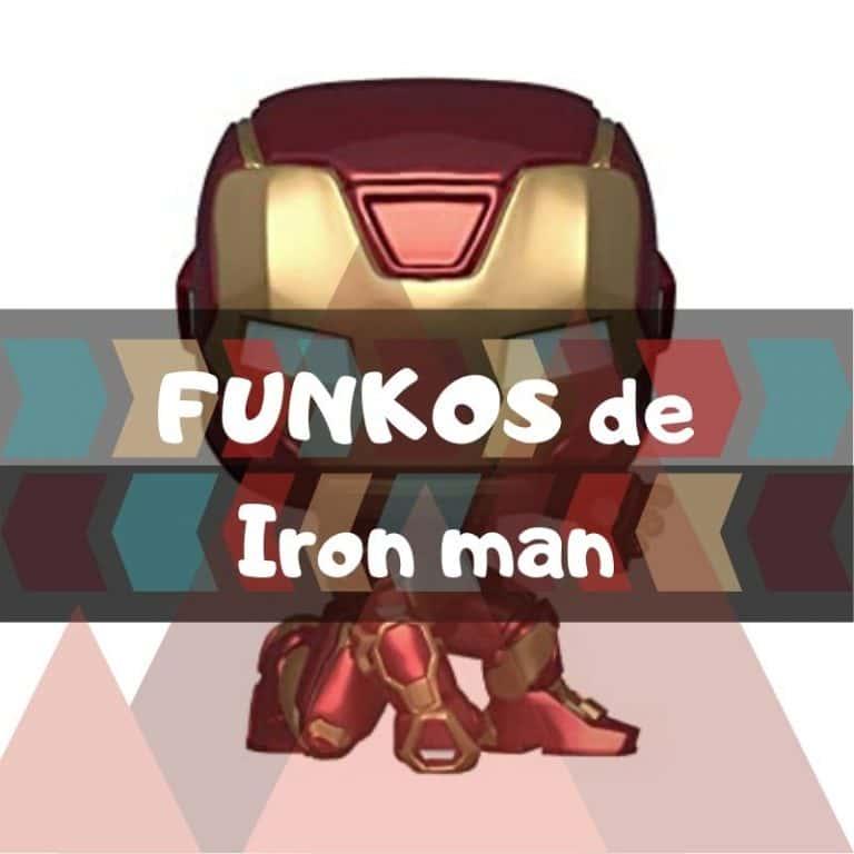 Los mejores funkos POP de Marvel de Iron man