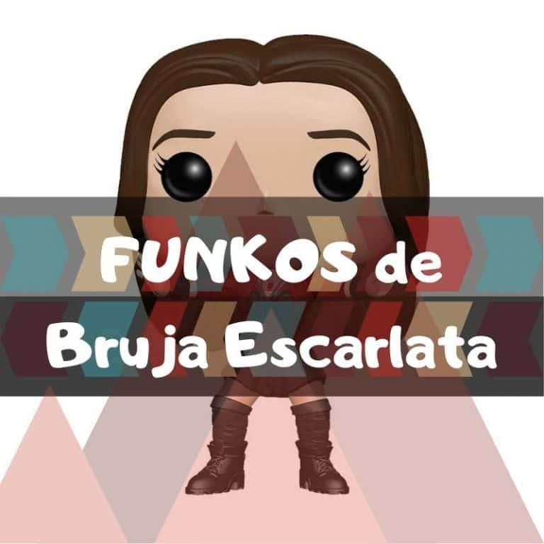 Los mejores funkos POP de Marvel de la Bruja Escarlata