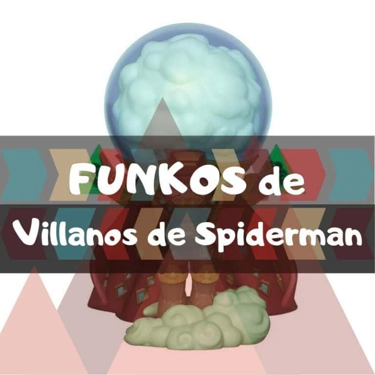 Los mejores funkos POP de Marvel de villanos de Spiderman