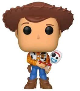 Los mejores FUNKO POP de Toy Story 4 - Funko de Disney Pixar de Woody con forky