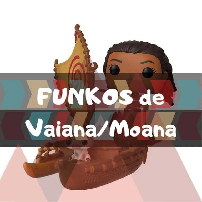 Lee más sobre el artículo Los mejores funkos POP de Vaiana/Moana
