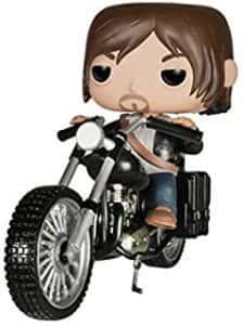 Los mejores FUNKO POP de Walking Dead - Funko de Daryl en motocicleta