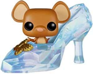 Los mejores FUNKO POP de la Cenicienta- Funko de Gus en el zapato de cristal