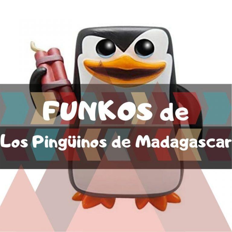 Los mejores funkos POP de los Pingüinos de Madagascar
