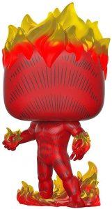 Los mejores FUNKO POP de los 4 fantásticos - Funko de la antorcha humana de fuego completa