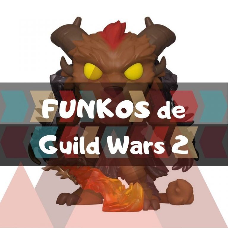 Los mejores funkos POP de Guild Wars 2