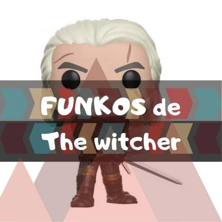 Los mejores funkos POP de The Witcher