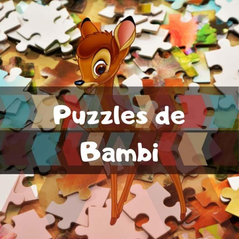 Los mejores puzzles de Bambi