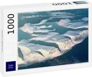 Los mejores puzzles de Islandia - Puzzle de los glaciares de Islandia de 1000 Piezas de Ravensburger