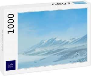 Los mejores puzzles de Islandia - Puzzle de paisaje de nieve de Islandia de 1000 Piezas de Ravensburger