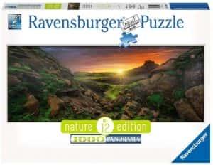 Los mejores puzzles de Islandia - Puzzle de panorama natural de Islandia de 1000 Piezas de Ravensburger