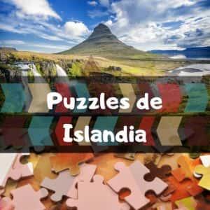 Los mejores puzzles de Islandia - Puzzles de paisajes naturales de Islandia - Puzzles de cascadas, volcanes, glaciares de Islandia