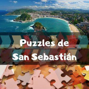 Los mejores puzzles de San Sebastián - Puzzles de ciudades de Donosti