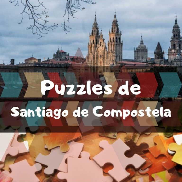Los mejores puzzles de Santiago de Compostela