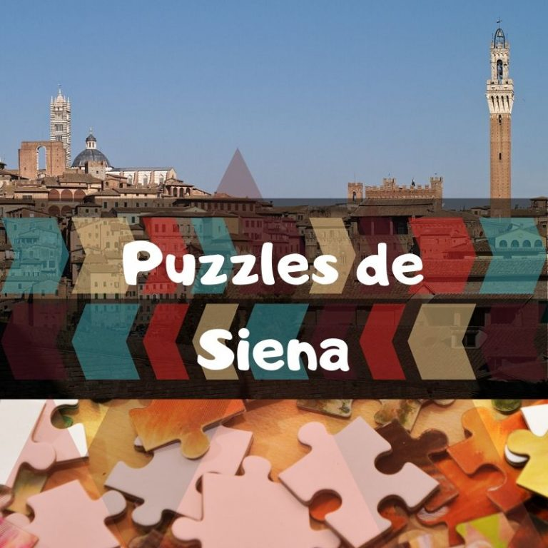 Los mejores puzzles de Siena