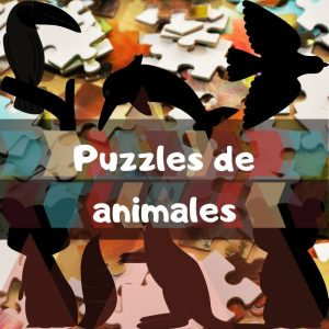 Los mejores puzzles de animales - Puzzle de animales salvajes